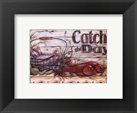 Fisherman's Catch III Framed Print