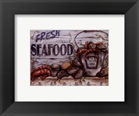 Fisherman's Catch IV Framed Print