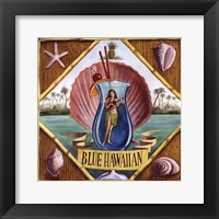Blue Hawaiian Framed Print