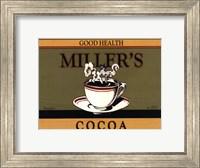 Framed Miller's Cocoa