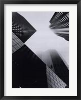 Framed North Michigan Avenue Highrises