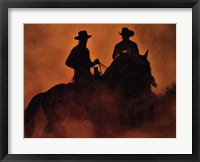 Framed Knight Riders