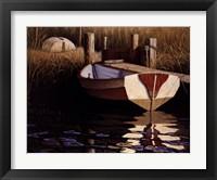 Framed River Boat