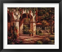 Framed Arch Courtyard II