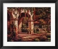 Framed Arch Courtyard II