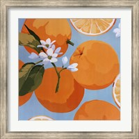 Framed Fresh Oranges