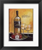 Framed Wine Notes IV