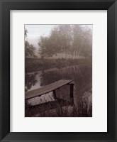 Framed Laughlin Pond