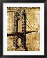 Framed George Washington Bridge