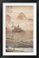Framed Land of the Pagoda I
