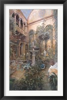 Framed Romantic Oasis