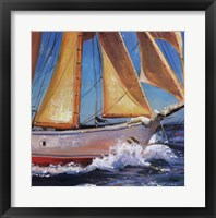 Framed Yacht Club Two
