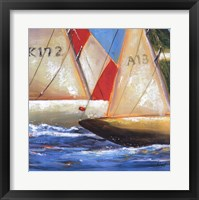 Yacht Club Three Framed Print