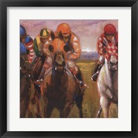 Photo Finish Framed Print