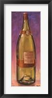 Yay Chardonnay Framed Print