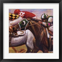 Win Place Show Framed Print