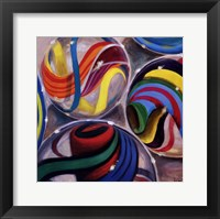 Framed Marvelous Marbles II