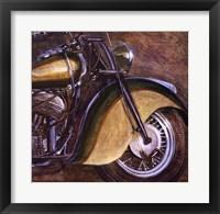 Vintage Motorcycle 2 Framed Print