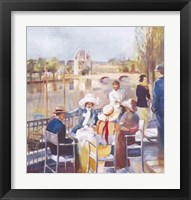 Framed View of the Seine