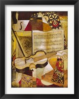 Framed Piece Music I