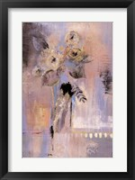 Framed Floral View Two