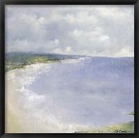 Framed Coastal Afternoon One