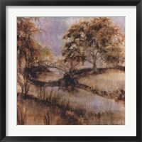 Framed Riverside Twilight