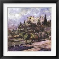 Framed Tuscan Summer