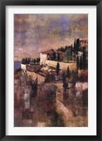 Framed Cliffside at Tuscany