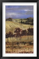 Framed Tuscan Daylight II
