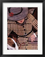 Framed Houndstooth and Tweed II