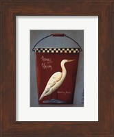 Framed Henry Heron Bucket