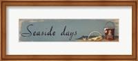 Framed Seaside Days