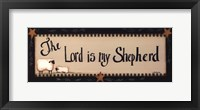 Framed Lord is My Shepherd