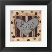 Framed Hugs & Kisses