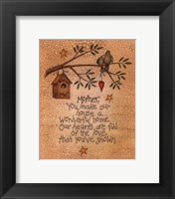 Framed Mother (bird)