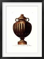 Framed Vase III