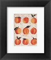 Framed Peach Collage