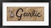 Framed Garlic