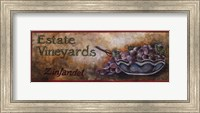 Framed Wine Crate Labels I