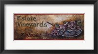 Framed Wine Crate Labels I
