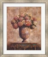 Framed Hydrangeas I