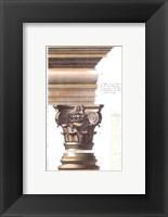 Framed Temple De Bacchus A Rome