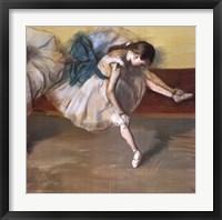 Framed Danseuse Au Repos