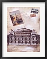 My Paris Souvenir IV Framed Print