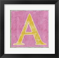 Framed Pink Background