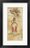Framed Olive Pepperocini I