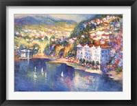Framed Lake Como