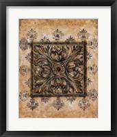 Framed Bronze Elements II
