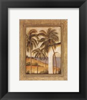 Framed Caribbean Breeze I